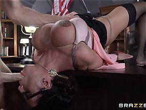 Warden Ariella Ferrera pokes her favourite prisoner