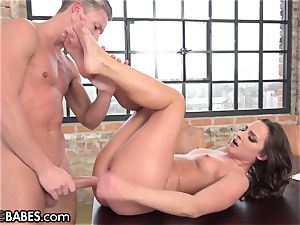 Amirah Adara romped as feet idolized and tongued