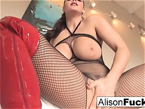 Alison Tyler makes you jack your meat for her