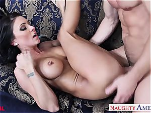 supreme Jessica Jaymes blow and poke a big dick