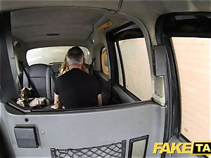 fake taxi ass licking tanned honey with lil' pink cunt