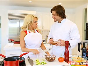 Luna star and Aria Alexander cooking up and climax with Jean Val Jean