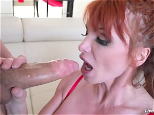 LiveGonzo Taylor Wane big-chested milf Wants More fuck-fest