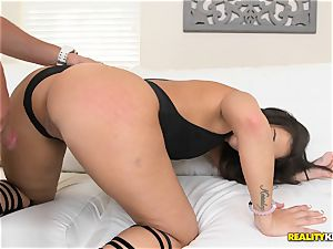 fantastic Devyn Heart picked up and honeypot porked deep