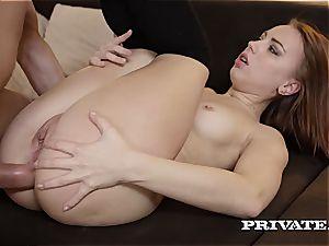 nasty schoolgirl Kira Thorn Takes an buttfuck...