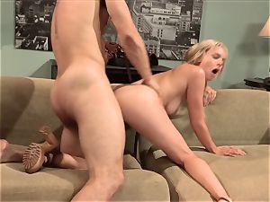 Keira Nicole pummels her half nude housemate