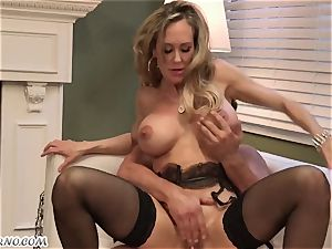 Mature chick Brandi love loves young fellows and fucky-fucky with them
