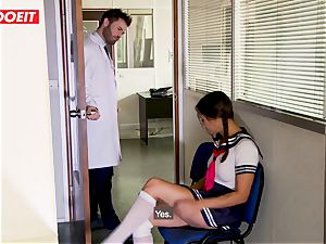 schoolgirl gets abused xxx by tutor and doctor